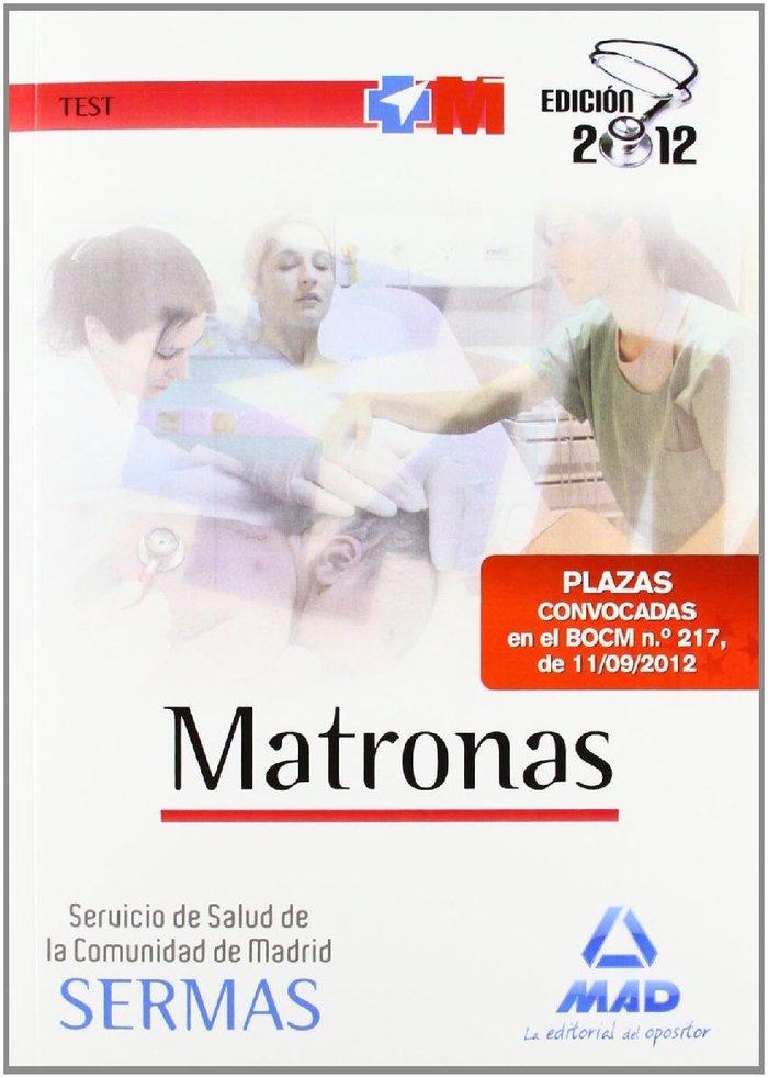 Matronas, servicio de salud, comunidad de madrid. test