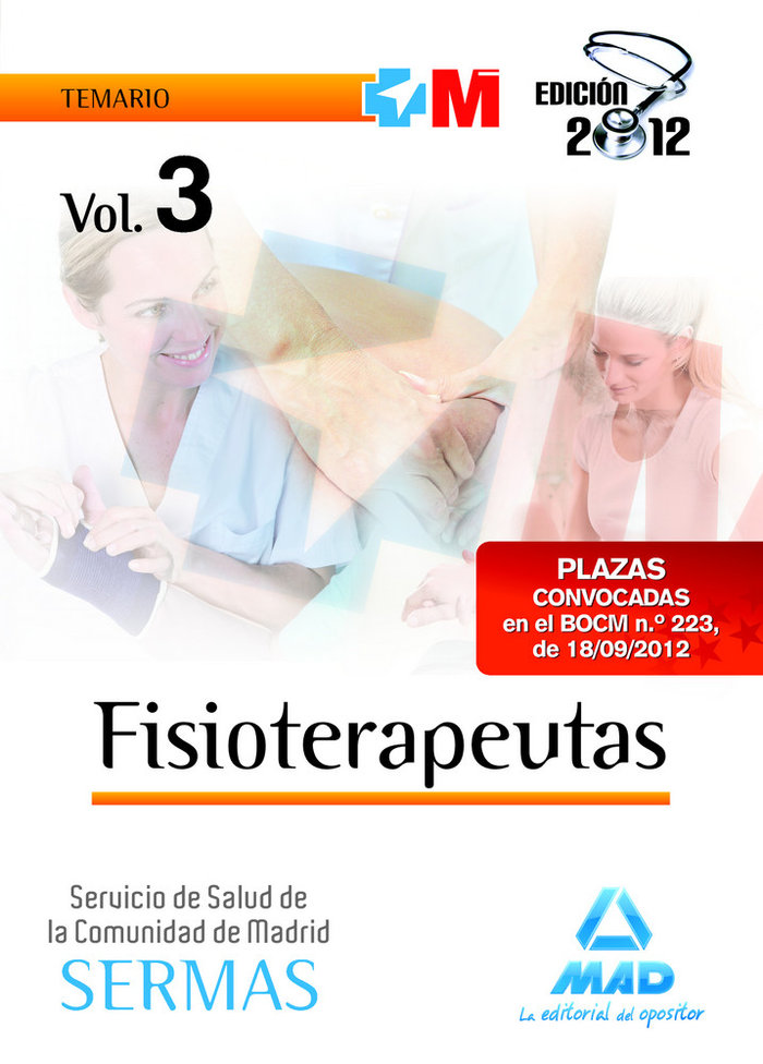 Fisioterapeutas vol.iii sermas madrid