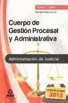 Temario 3 cuerpo gestion procesal y administrativa libre