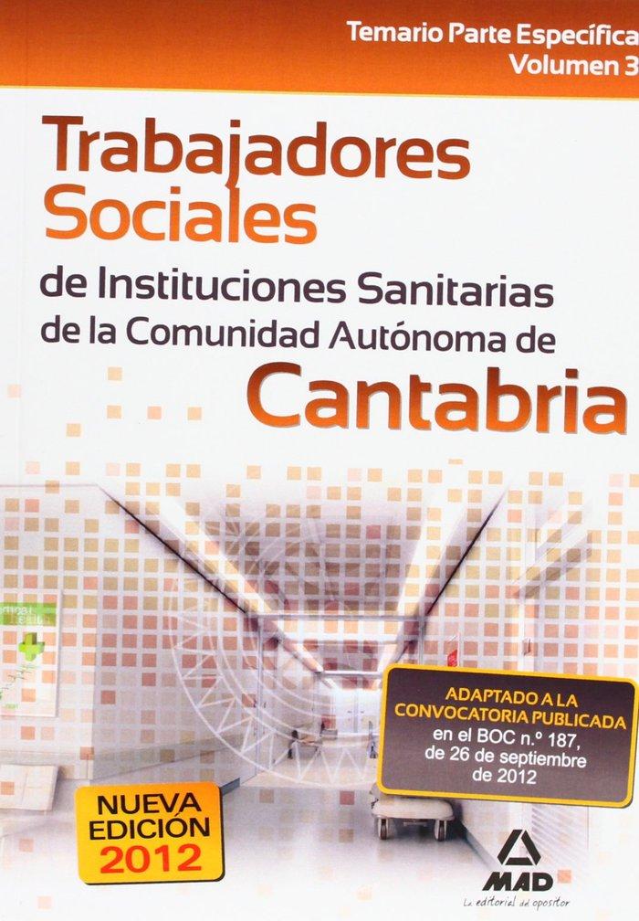 Trabajadores sociales de instituciones sanitarias, comunidad