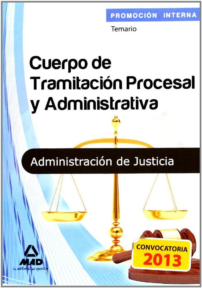 Cuerpo de tramitacion procesal y administrativa, promocion i