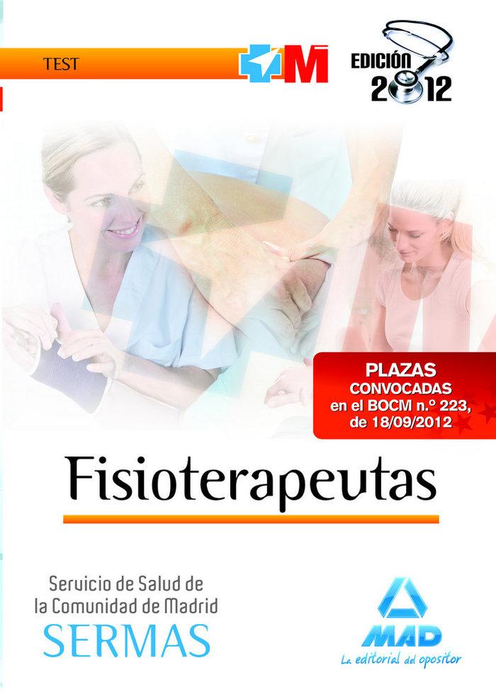 Fisioterapeuta del servicio de salud c.madrid test 2012