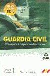 Guardia civil temario para la preparacion