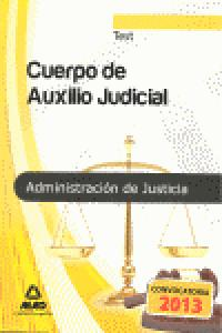 Test cuerpo auxilio judicial administracion de justicia