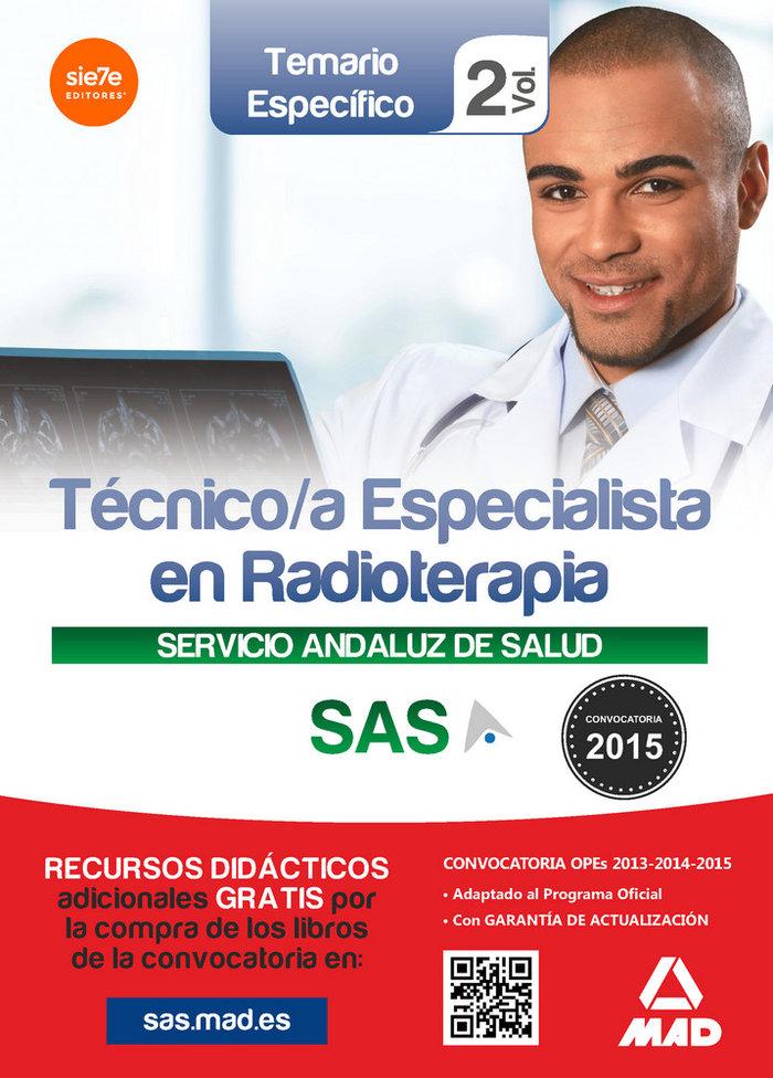 Tecnico especialistas en radioterapia sas vol 2