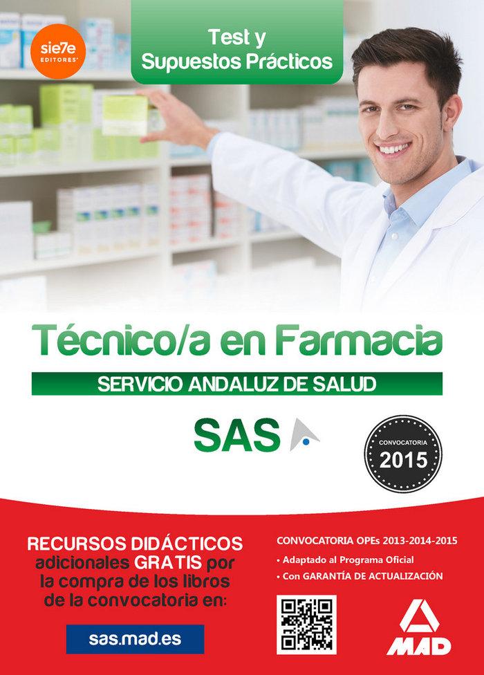 Tecnico en farmacia servicio andaluz salud test 2015