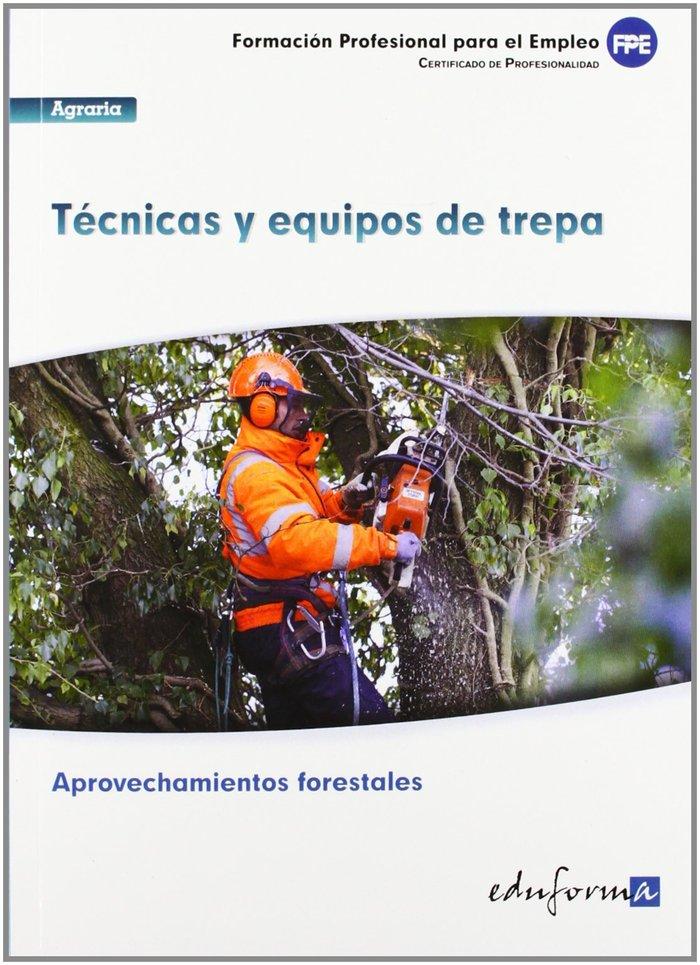 Tecnicas y equipos de trepa certificado de profesionalidad
