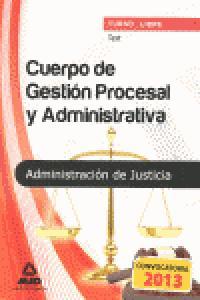 Test cuerpo de gestion procesal y administrativa
