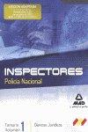 Temario 1 ciencias juridicas 1 cuerpo inspector policia nac