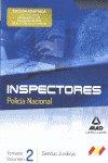 Temario 2 ciencias juridicas 2 cuerpo inspector policia nac