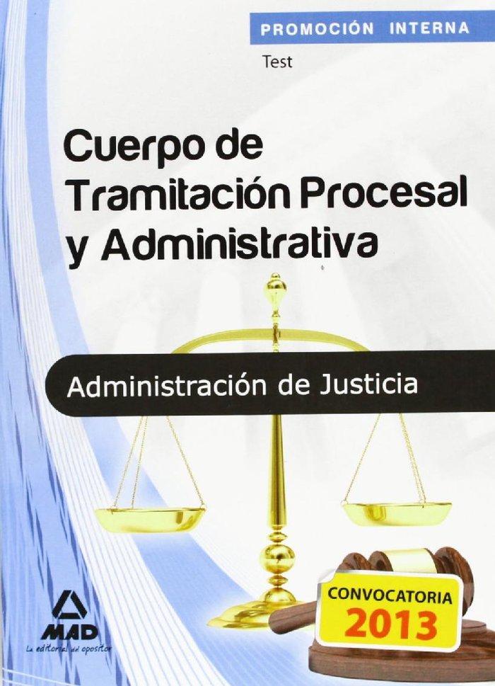 Cuerpo tramitacion procesal administrativa test promocion i