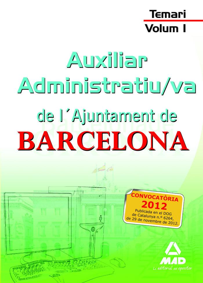 Auxiliar administratiu-va ajuntament catal