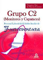 Monitores y capataces, personal laboral, grupo c2, cabildo i