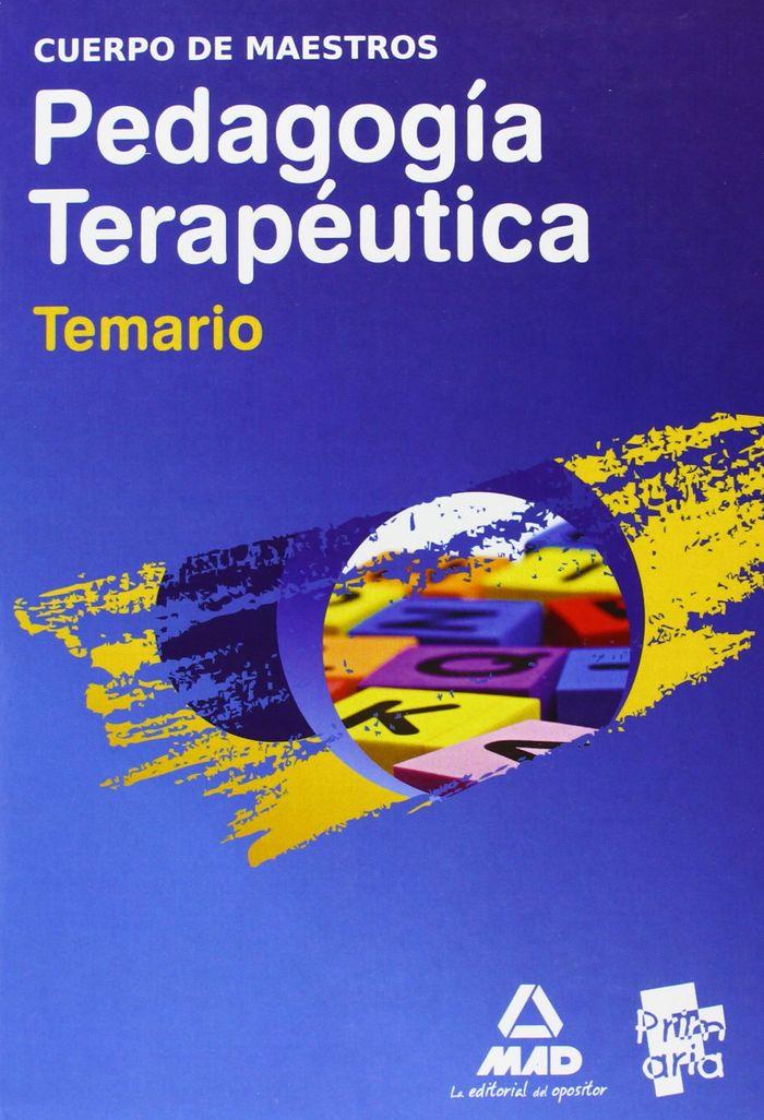 Paquete ahorro  maestros pedagogia terapeutica (temario + pl