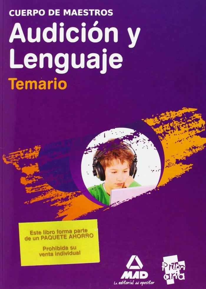 Paquete ahorro  maestros audicion y lenguaje(temario + plan