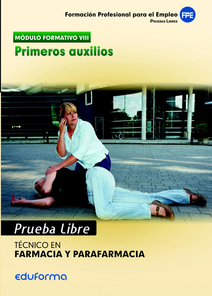 Pruebas libres obtencion titulo tecnico primeros auxilios