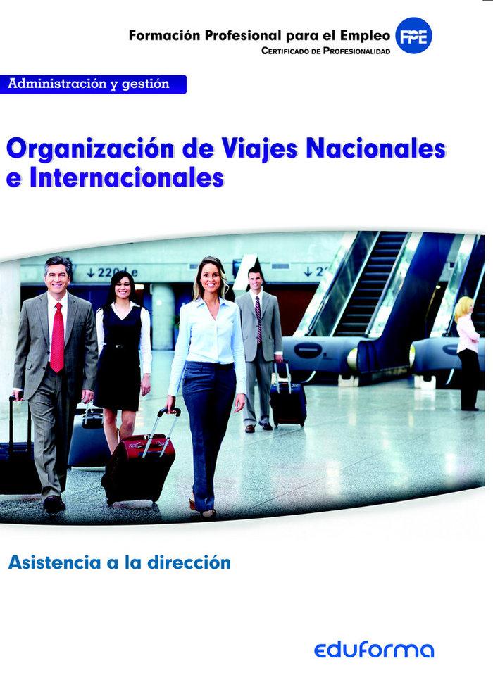 Uf0326. organizacion de viajes nacionales e internacionales.