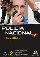 Policia nacional vol.2 escala basica abril 2013