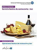 Modulo formativo 1. servicio basico de restaurante y bar. op