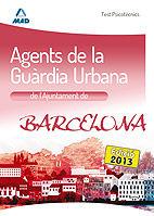 Agents de la guardia urbana de l`ajuntament de barcelona. te