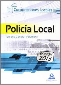 Policia local vol i temario general