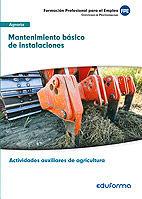 Uf0163 mantenimiento basico de instalaciones. certificado de
