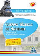 Cuerpo tecnico de hacienda.agencia estatal de administracion