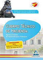Cuerpo tecnico de hacienda. agencia estatal de administracio