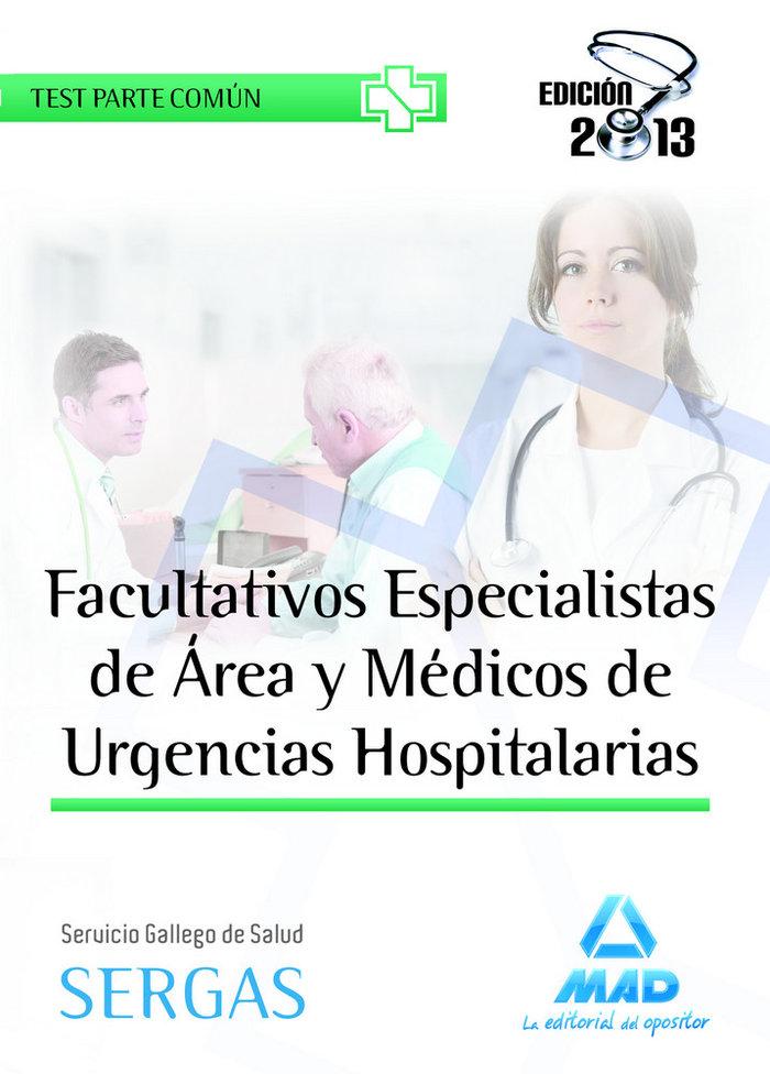 Facultativos especilistas de area y medicos de urgencias hos