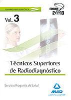 Tecnicos superiores de radiodiagnostico del servicio aragone