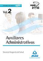 Auxiliares administrativos del servicio aragones de salud. t