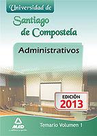 Administrativos de la universidad de santiago de compostela.
