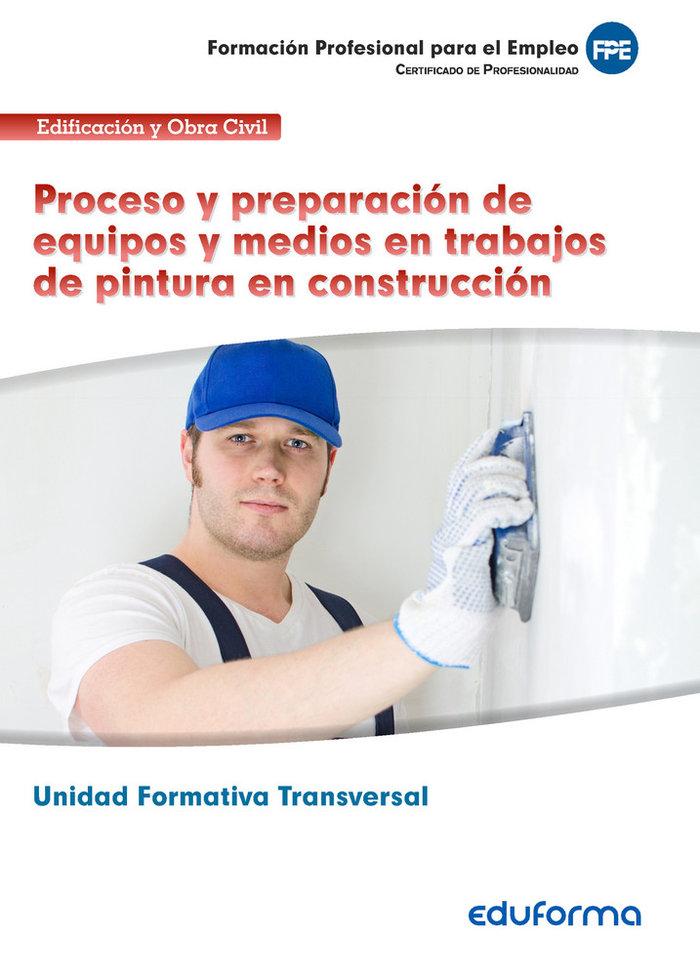 Unidad formativa transversal. proceso y preparacion de equip