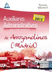 Auxiliar administrativo del ayuntamiento de arroyomolinos (m