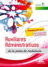 Auxiliares administrativos junta andalucia temario vol i