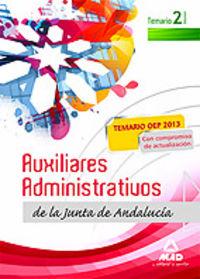Auxiliares administrativos junta andalucia temario vol ii