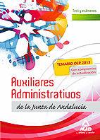 Test y examenes auxiliares administrativos junta andalucia