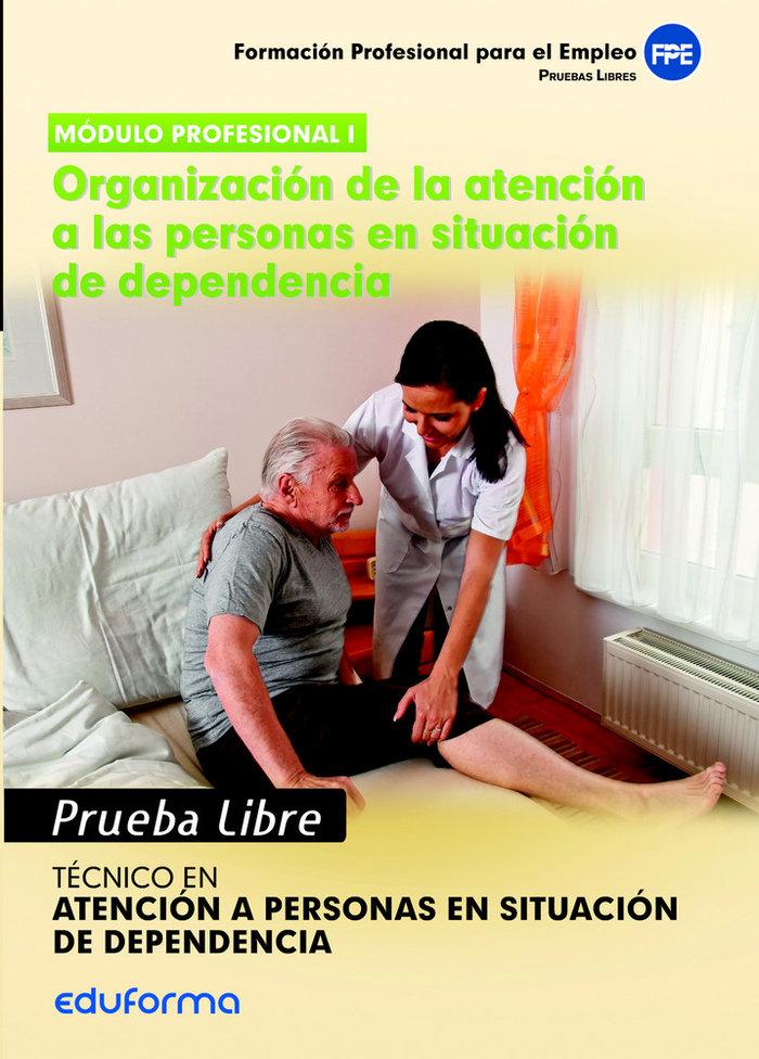 Organizacion atencion personas situacion de dependencia
