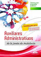 Aux administrativos andalucia igualdad genero temario test