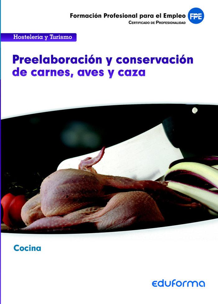 Ufo065 preelaboracion y conservacion de carnes, aves y caza.