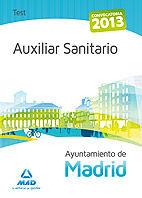Auxiliar sanitario del ayuntamiento de madrid. test del tema
