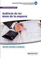 Uf0318. auditoria de las areas de la empresa. certificado de