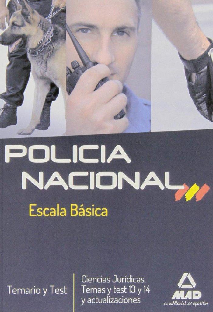 Policia nacional esc.basica temario y test
