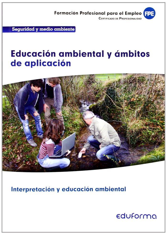 Educacion ambiental y ambitos de aplicacion certificado pro