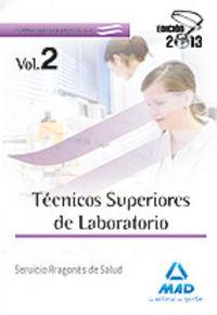 Tecnicos superiores de laboratorio vol 2