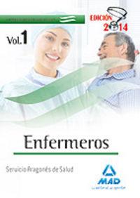 Enfermeros servicio aragones salud temario especifico