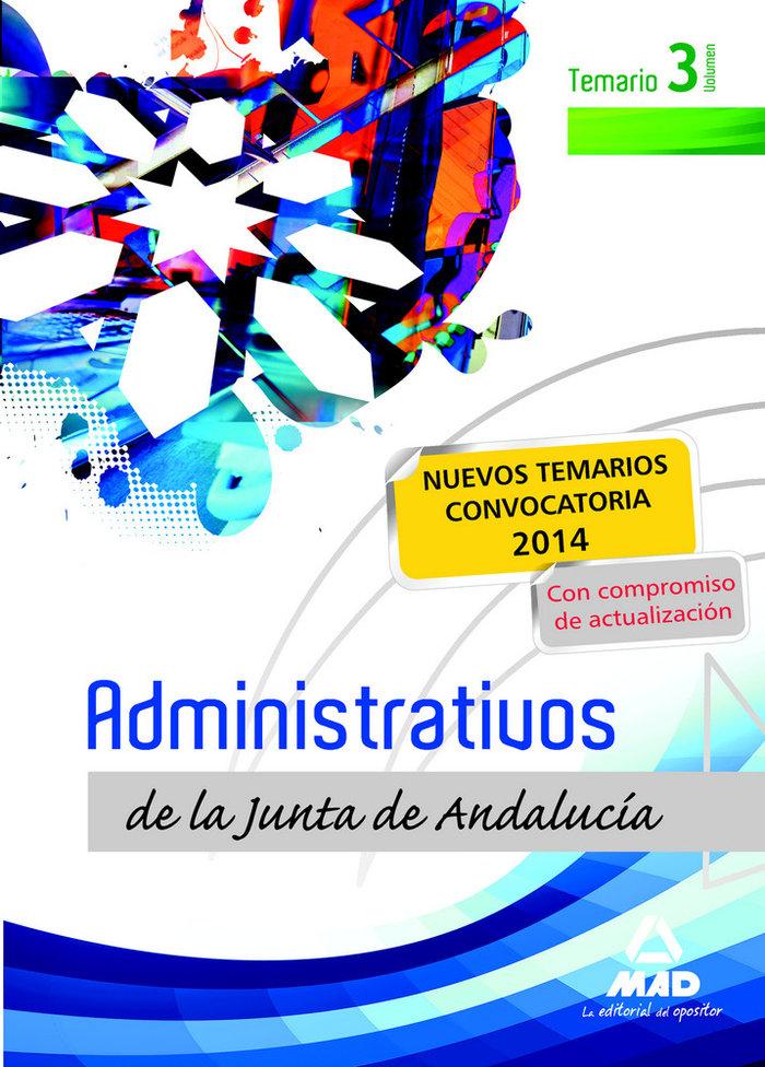 Administrativos j.andalucia t.libre iii temario ne