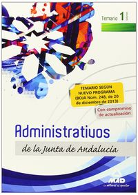 Administrativos de la junta de andalucia turno libre tema