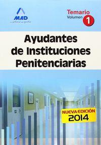 Ayudante instituciones penitenciarias i 2014
