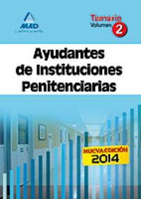 Ayudante instituciones penitenciarias temario 2 2014